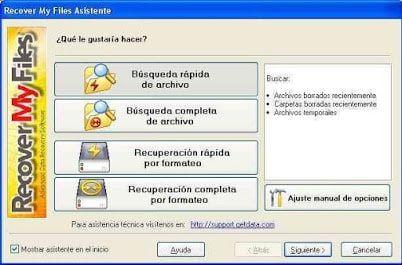 recuperar archivos perdidos