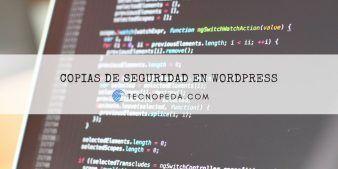 Cómo hacer copias de seguridad en Wordpress