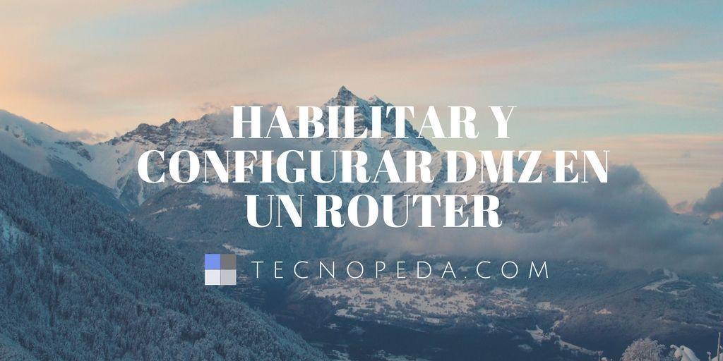 Configurar DMZ router