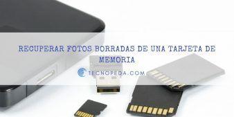 Recuperar fotos borradas de un móvil