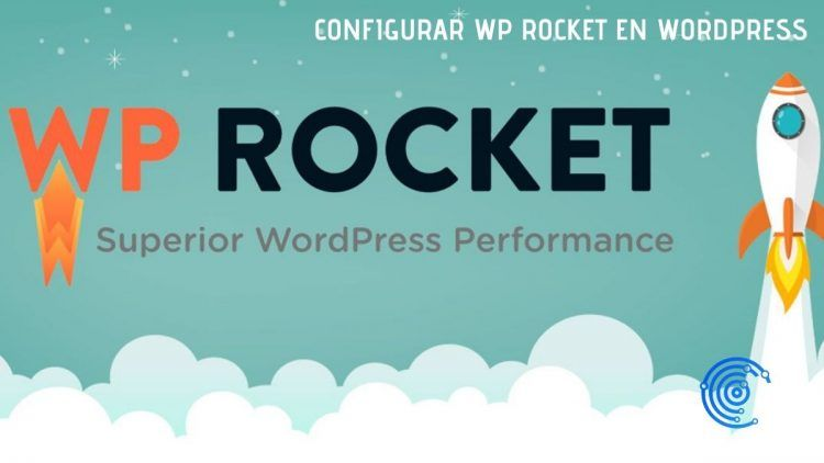 Imagen de un cohete despegando como símbolo del plugun WP Rocket