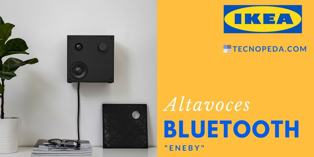 Nuevos altavoces bluetooth de Ikea