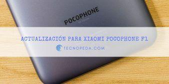 Pocophone F1 actualiza su cámara y corrige fallos con las apps