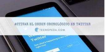 Activar el orden cronológico en Twitter