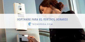 Software para el control horario de los trabajadores