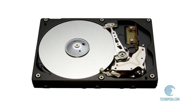Interior de un disco duro