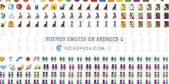 Nuevos Emojis Android Q