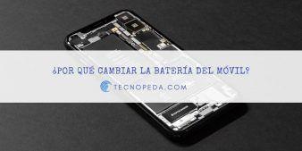 Cambiar la batería del móvil