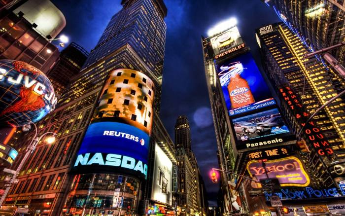 Pantallas Gigantes en Nueva York