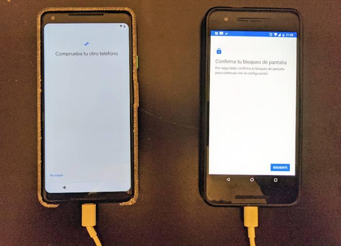 Pasar archivos de un móvil a otro nuevo