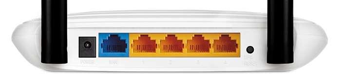 Conexiones router TP Link TL - WR841N