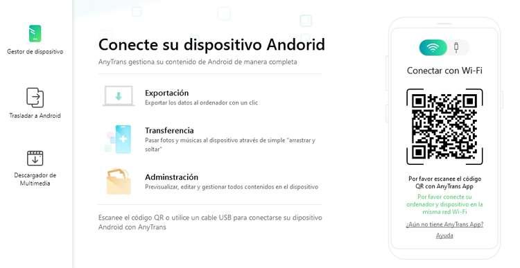 Traspasar el contenido de android a Iphone