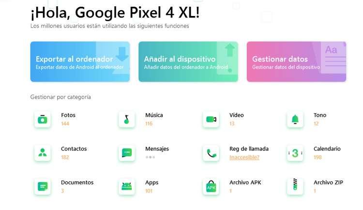 trasladar los contactos de Android a Iphone