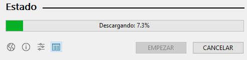 La ISO de Windows comenzará a descargarse utilizando el software de Rufus