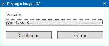 Rufus te permite descargar la imagen de disco de Windows 10