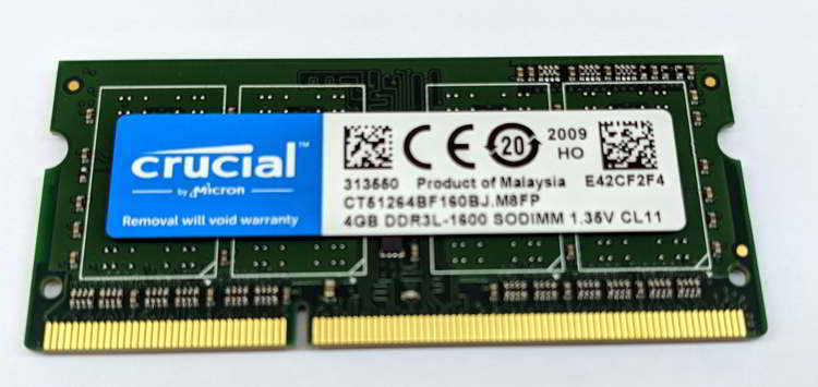 Módulo de Memoria RAM SO-DIMM
