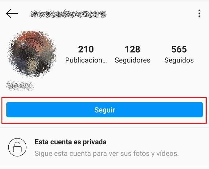 Seguir Cuenta de Instagram