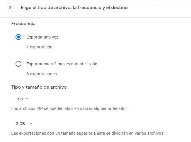 Configurar la descarga de fotos de Google Photos