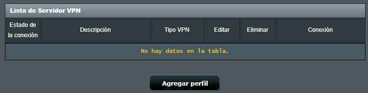 Agregar VPN a router Asus
