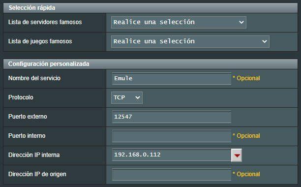 agregar perfil en servidores virtuales