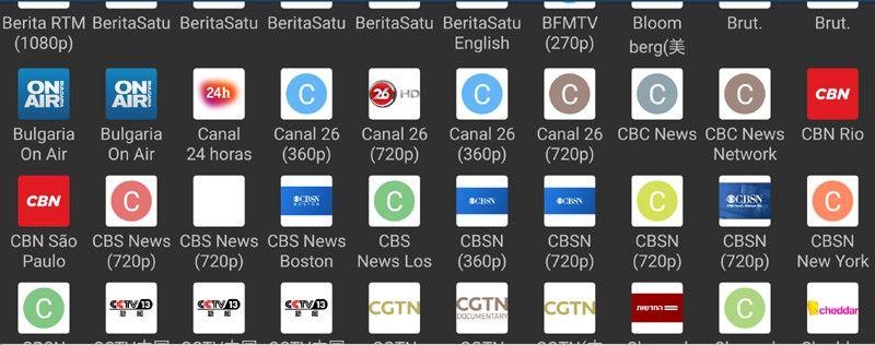 canales de televisión gratuitos de listas iptv